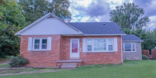 4 Bdrm/3 Bath Home with Large 3 Bay Garage on Edge of Town