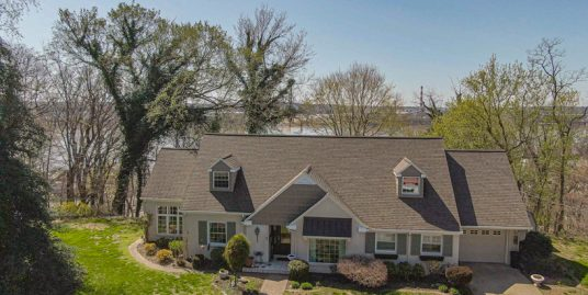 Custom Built Home with Ohio River View!