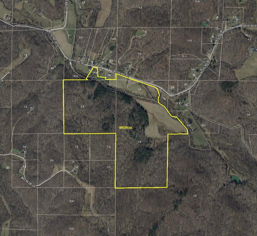 126 ACRES Cannelton, Indiana (Perry County)