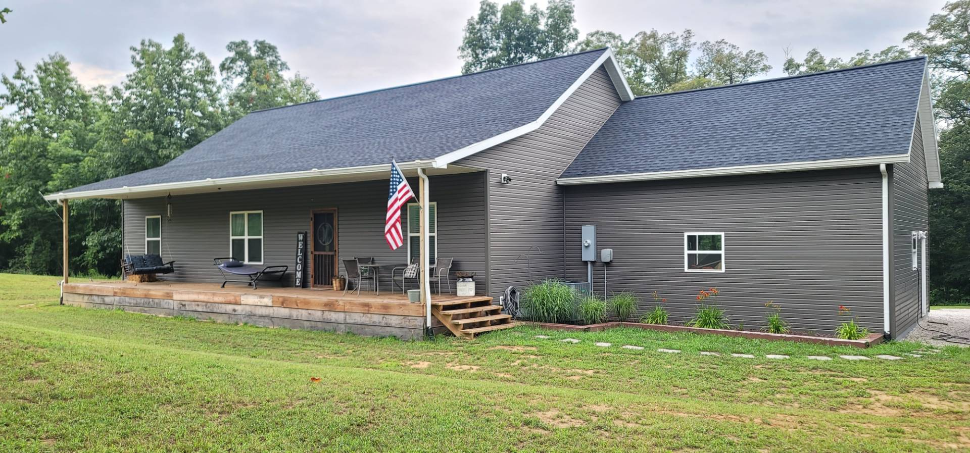 Newly Built Ranch Style Home on 18.6 acres
