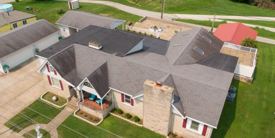 Spacious Bedford Stone Home with Indoor Pool!!