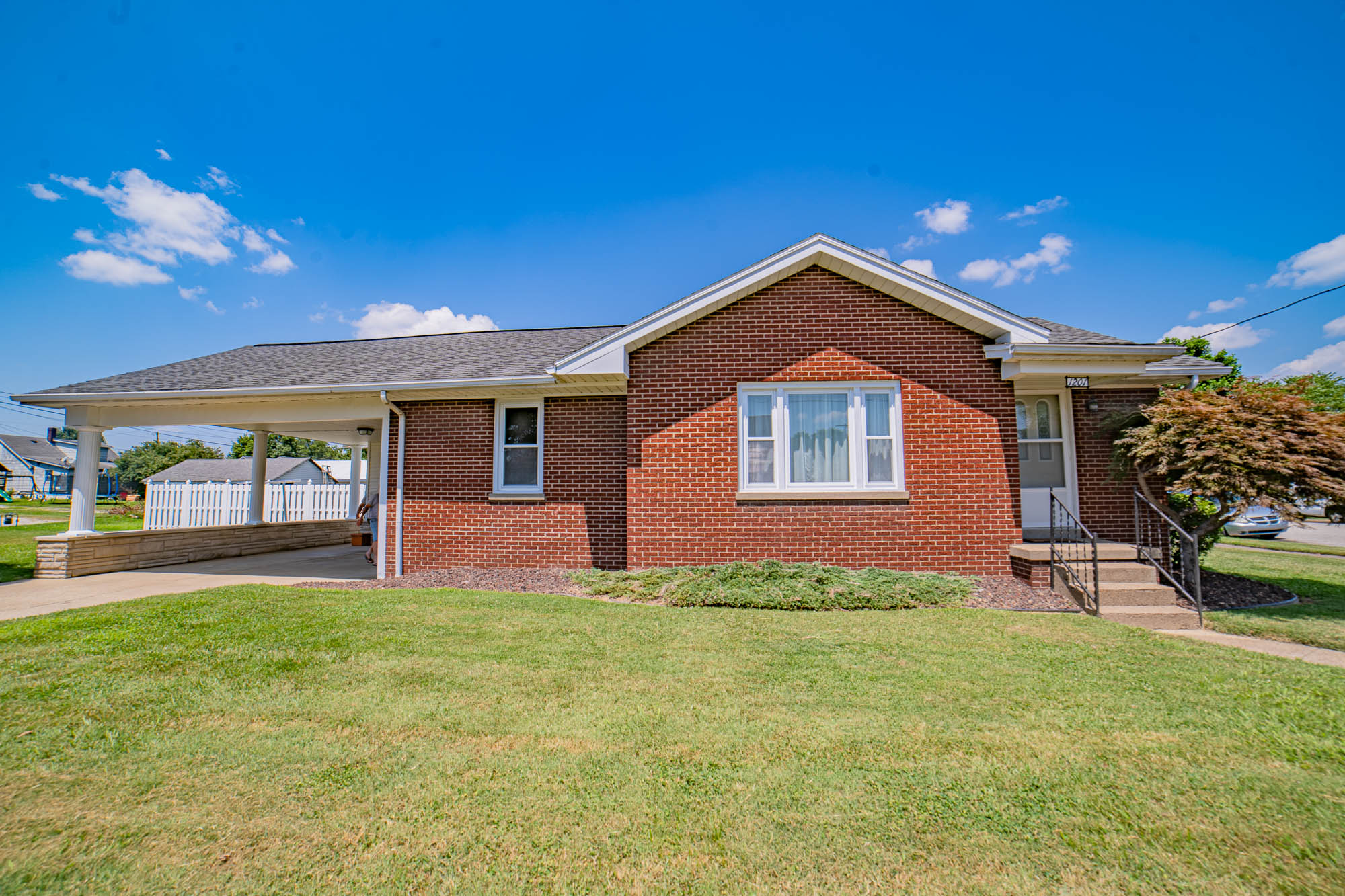 Immaculately Clean and Well Maintained Brick Home